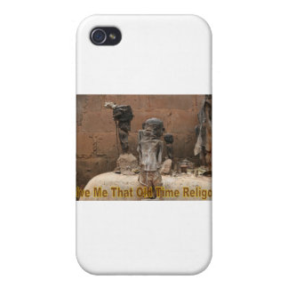 Give Me That Old Time Religion iPhone 4/4S Covers