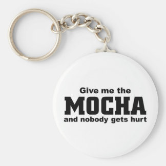 Give me the mocha key ring