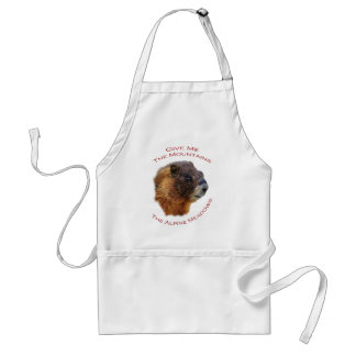 Give Me the Mountains...Marmot Adult Apron