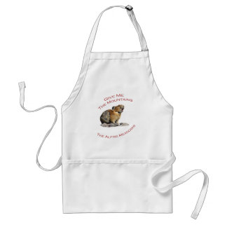 Give Me The Mountains...Pika Aprons