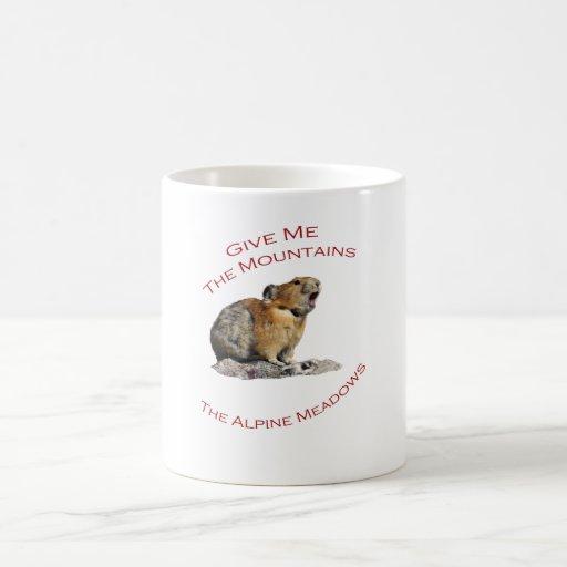 Give Me The Mountains...Pika Mug