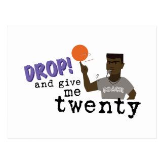 Give Me Twenty! Postcard