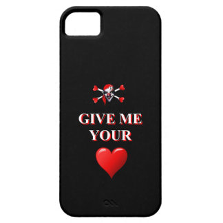 Give me your heart pirate clown barely there iPhone 5 case