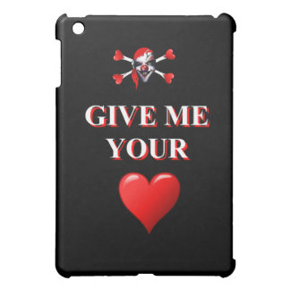 Give me your heart pirate clown cover for the iPad mini