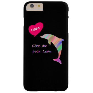 Give me your love barely there iPhone 6 plus case