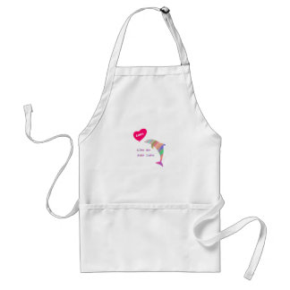 Give me your love_dolphin standard apron