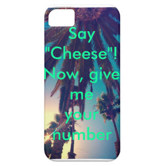 Give me your number IPhone case