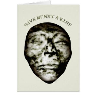 Give Mummy A Kiss Card