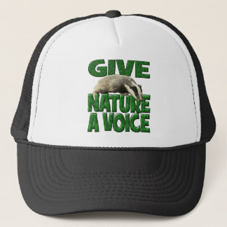 GIVE NATURE A VOICE- Badger Cub Trucker Hat