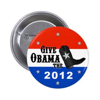 Give Obama the Boot! (Small button)
