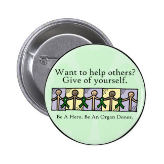 Give of Yourself Pinback Buttons