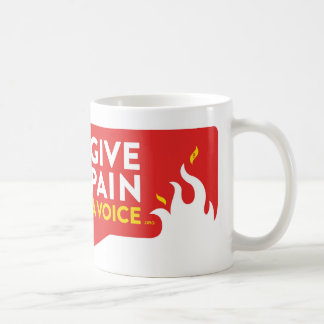 Give Pain A Voice Coffee Mug