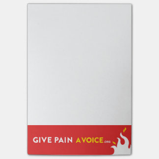 Give Pain A Voice Post-it® Notes