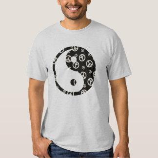 Give Peace a Chance 1 Yin and Yang T-shirts
