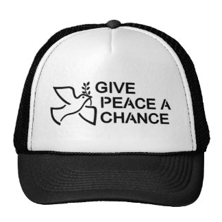 Give Peace a Chance Mesh Hat