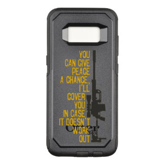 Give Peace a Chance I'll cover you OtterBox Commuter Samsung Galaxy S8 Case