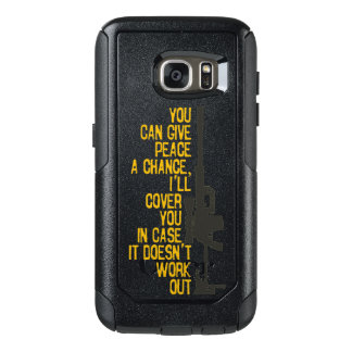 Give Peace a Chance I'll cover you OtterBox Samsung Galaxy S7 Case