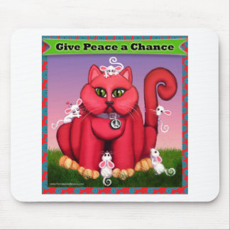 Give Peace a Chance Mouse Mat