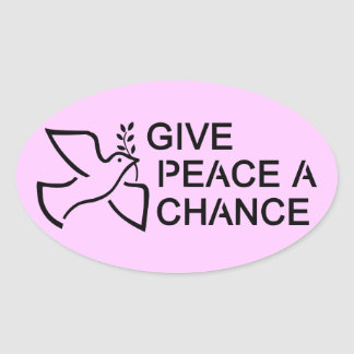Give Peace a Chance Sticker
