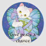 Give peace a chance stickers