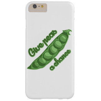 Give  peas a chance barely there iPhone 6 plus case
