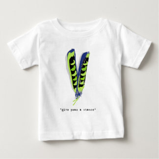 give peas a chance-light baby T-Shirt