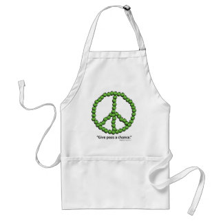 Give Peas A Chance Standard Apron
