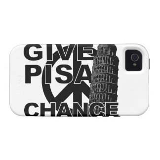 Give Pisa Chance iPhone 4 Case-Mate iPhone 4 Covers