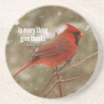 Give Thanks Bible Verse Coasters