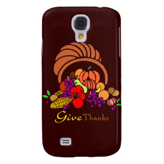 Give Thanks - Horn of Plenty Samsung Galaxy S4 Cases