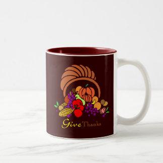 Give Thanks - Horn of Plenty Mug
