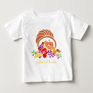 Give Thanks - Horn of Plenty T Shirts