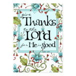 Give Thanks - Scripture Cards Pack Of Chubby Business Cards