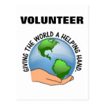 Give the world a helping hand and volunteer