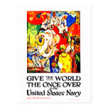 Give The World The Once Over Post Card