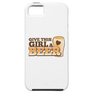Give this girl a Beer ND iPhone 5 Cover