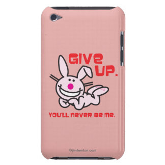 Give Up Barely There iPod Cover