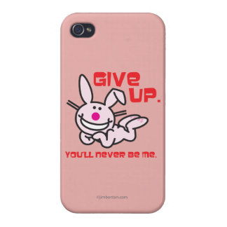 Give Up iPhone 4 Case