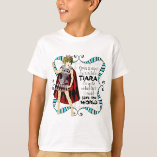 given a suitable tiara copy.jpg T-Shirt
