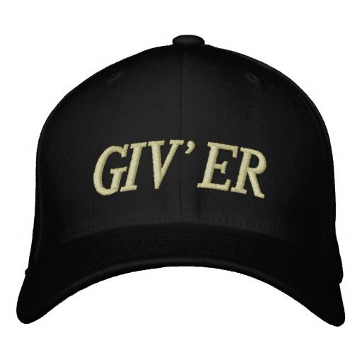 GIV'ER HAT EMBROIDERED HAT
