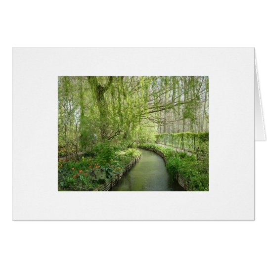 Giverney Card