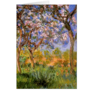Giverny in Springtime Greeting Card