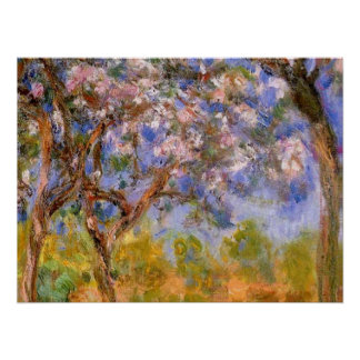 Giverny in Springtime Poster