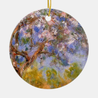 Giverny in Springtime Round Ceramic Decoration