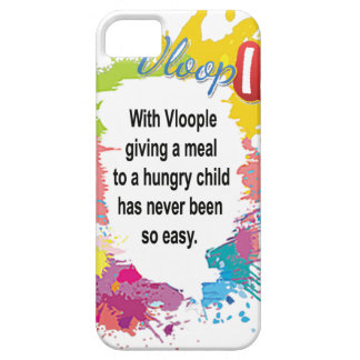 giving a meal to a hungry child iPhone 5 covers