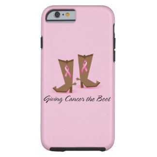 Giving Cancer The Boot iPhone 6 Case