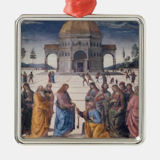 Giving of the Keys to St. Peter Christmas Ornament
