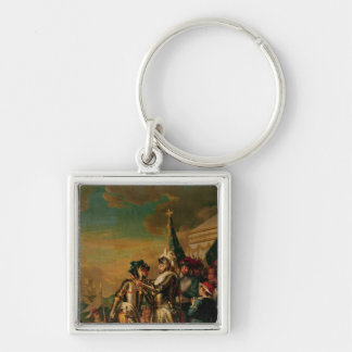 Giving the Chain of the Order of Saint-Michel Key Ring
