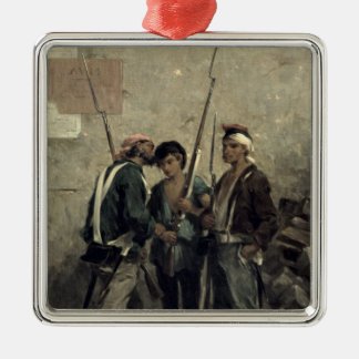 Giving the Order, 24th February 1848 Christmas Ornament