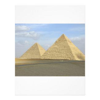 Giza Pyramids Photo Full Color Flyer